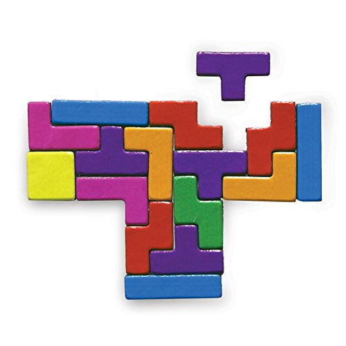 Imanes para nevera del Tetris. CálleseYCojaMiDinero.com