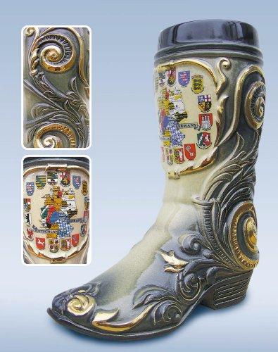 Bota de cerveza alemana hecha a mano. CálleseYCojaMiDinero.com