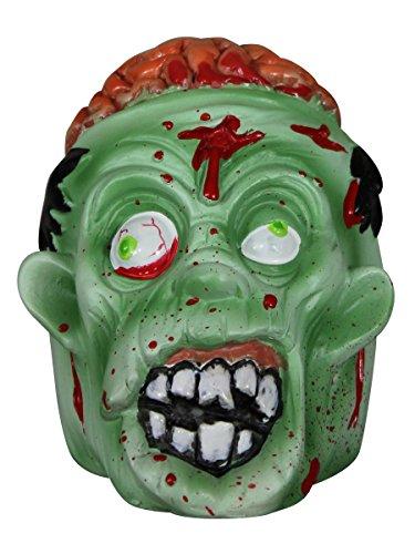 Cenicero cabeza de zombie. CálleseYCojaMiDinero.com