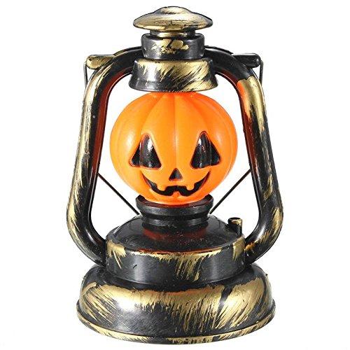 Lámpara de mano calabaza. CálleseYCojaMiDinero.com