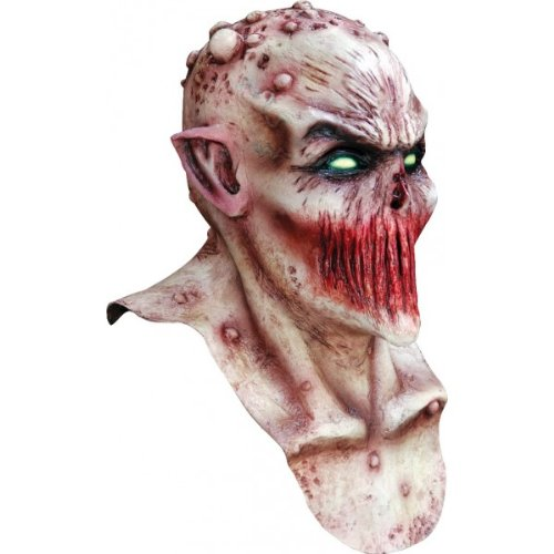 Máscara demoníaca boca cosida. CálleseYCojaMiDinero.com