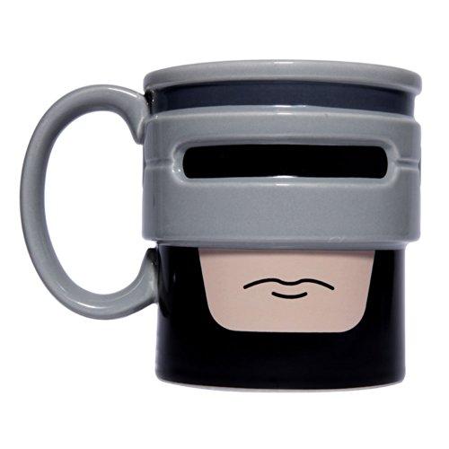 Taza de cerámica robocup RoboCop. CálleseYCojaMiDinero.com