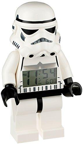 Reloj despertador Lego Star Wars Stormtrooper. CálleseYCojaMiDinero.com