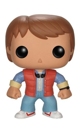 Figura Pop! Marty McFly Regreso al Futuro. CálleseYCojaMiDinero.com