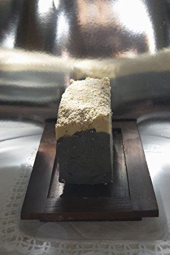 Pastilla de jabón artesanal de cerveza. CálleseYCojaMiDinero.com
