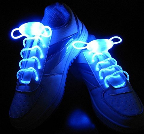Cordón luminoso led para zapatillas. CálleseYCojaMiDinero.com