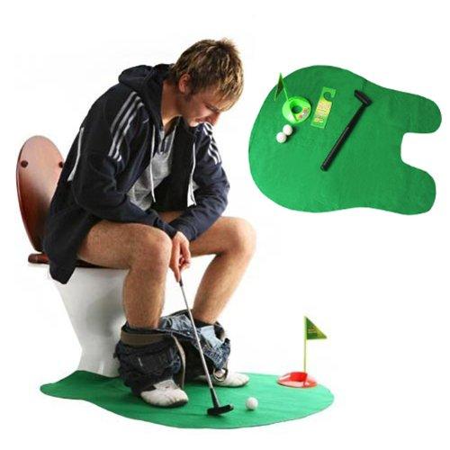 Juego de mini golf para baño. CálleseYCojaMiDinero.com