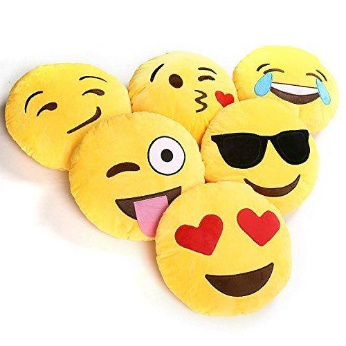 Cojines emoji emoticonos whatsapp. CálleseYCojaMiDinero.com