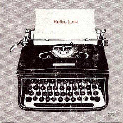 Máquina de escribir analógica vintage. CálleseYCojaMiDinero.com