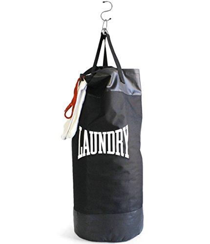Bolsa para ropa sucia saco de boxeo. CálleseYCojaMiDinero.com