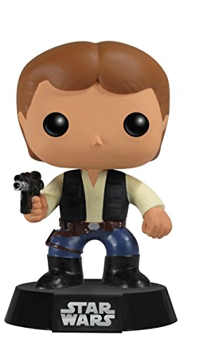 Figura Pop! cabezona Han Solo Star Wars. CálleseYCojaMiDinero.com