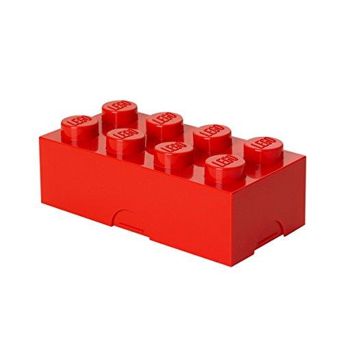 Fiambrera en forma de bloque de Lego. CálleseYCojaMiDinero.com