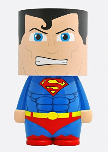 Lámpara de mesa Superman Man Of Steel DC. CálleseYCojaMiDinero.com