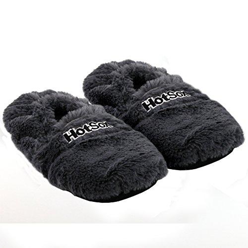 Zapatillas térmicas calentables microondas. CálleseYCojaMiDinero.com