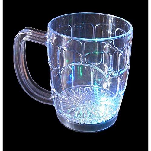 Jarra de cerveza luminosa con led. CálleseYCojaMiDinero.com
