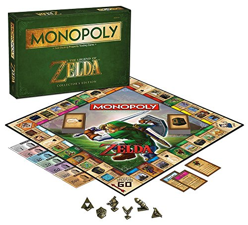 Monopoly de The Legend of Zelda Nintendo. CálleseYCojaMiDinero.com