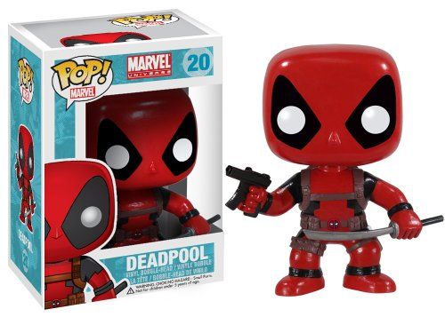 Figura POP! cabezona Deadpool Marvel. CálleseYCojaMiDinero.com